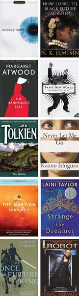 Sci-Fi and Dystopian Classroom Library - Grades 11-12