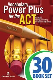 Vocabulary Power Plus for the ACT - Level 9 - Complete Package