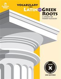 Vocabulary from Latin and Greek Roots - Book IV