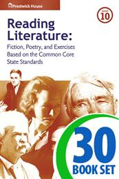 Reading Literature - Level 10 - 30 Books, Teacher's Edition, Homework and Classroom Activities
