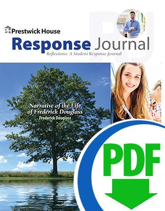 Narrative of the Life of Frederick Douglass - Downloadable Response Journal
