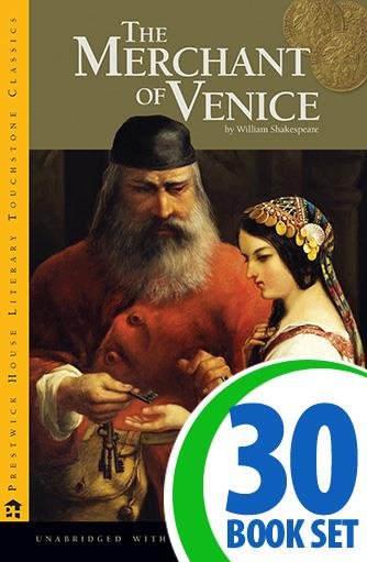 Merchant of Venice, The - 30 Books and Complete Teacher's Kit