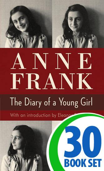 Anne Frank: The Diary of a Young Girl - 30 Books and LitPlan Teacher Pack (CD-ROM)