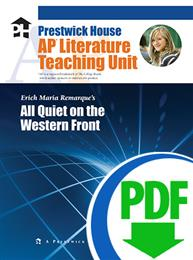 All Quiet on the Western Front - Downloadable AP Teaching Unit