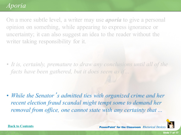 While the Senator's admitted ties with organized crime and her recent election fraud scandal might tempt some to demand her removal from office, one cannot state with any certainty that...