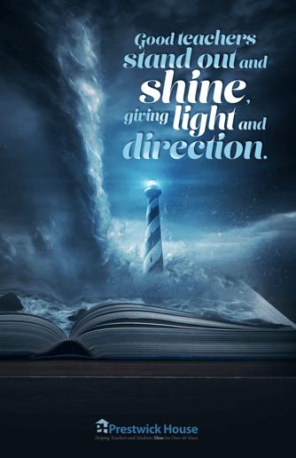 Teachers Shine Bright Poster