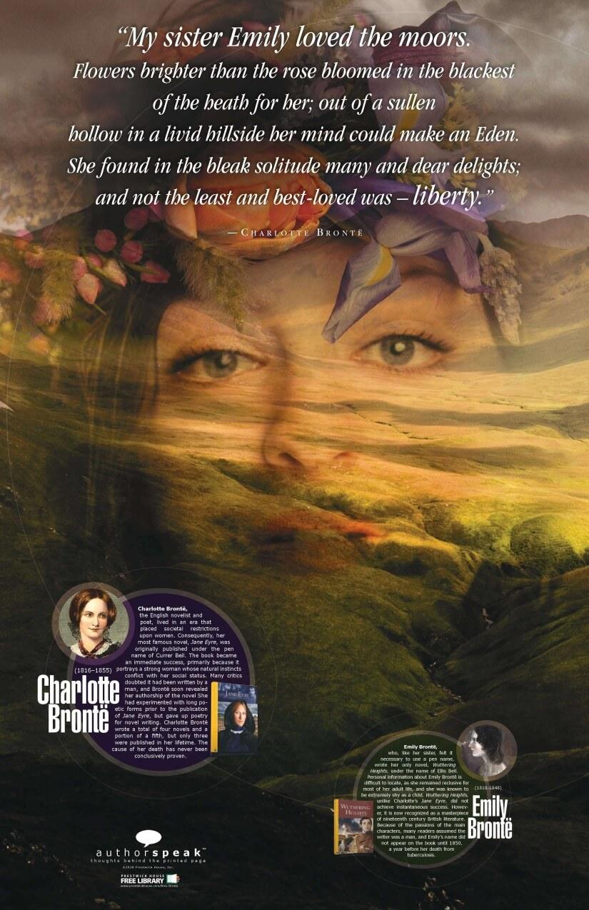 AuthorSpeak Brontë Sisters Poster