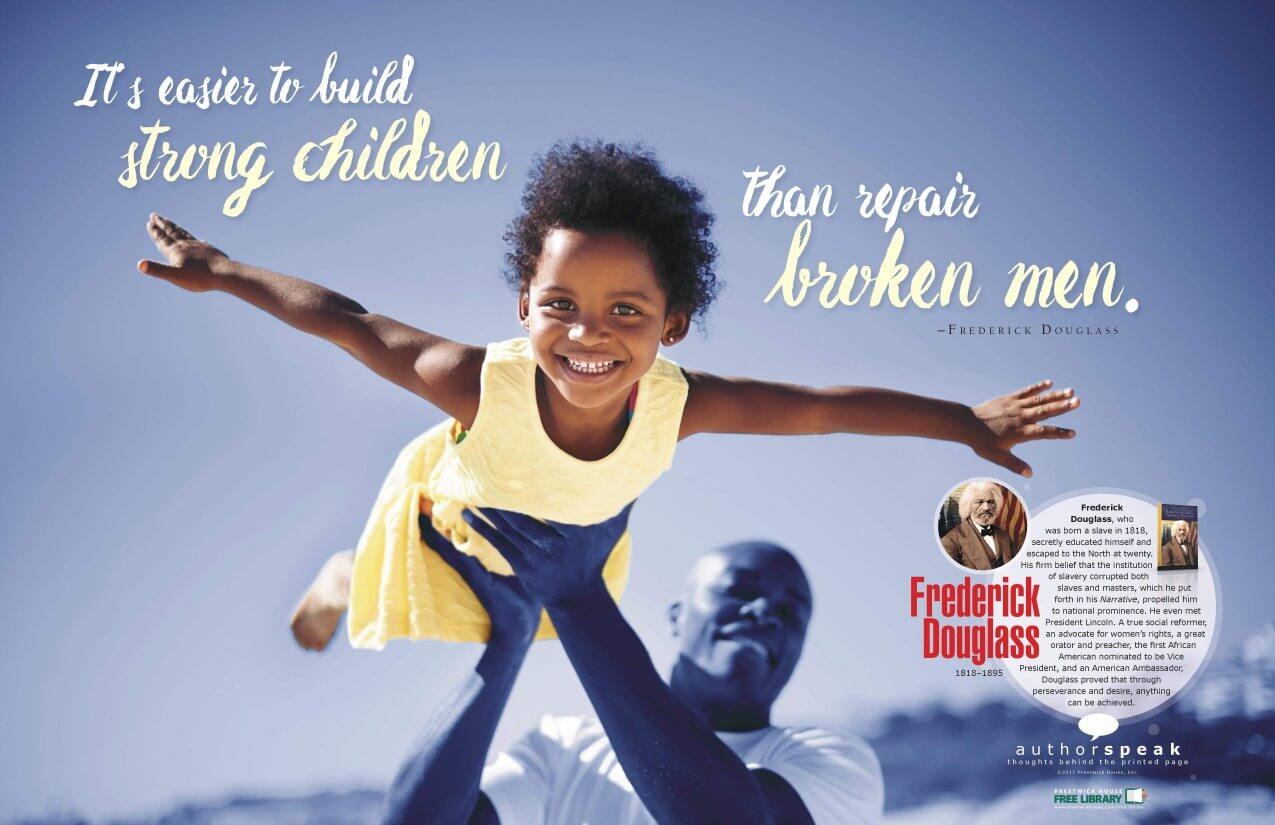 AuthorSpeak Frederick Douglass Poster