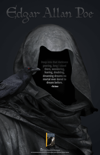 Honoring Edgar Allan Poe Poster