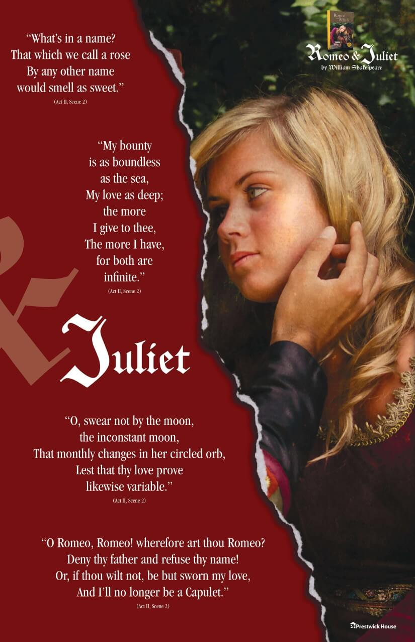 Love Quotes - Juliet Poster