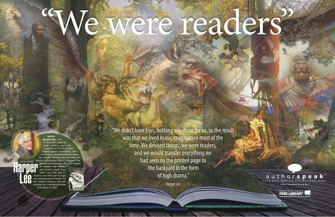 AuthorSpeak Harper Lee Poster