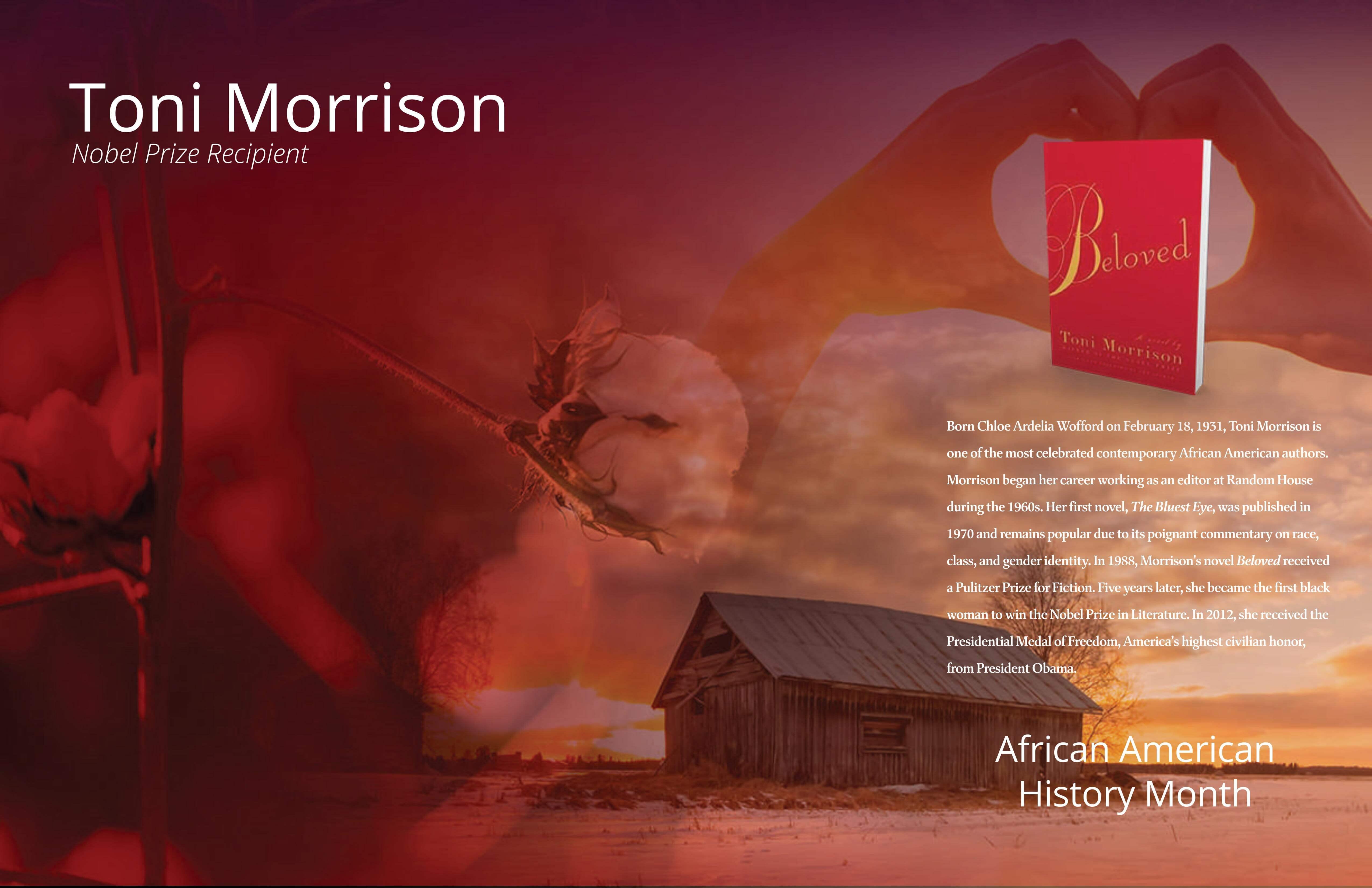 AuthorSpeak: Toni Morrison Free Poster