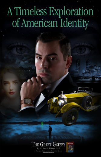 The Great Gatsby Free Poster