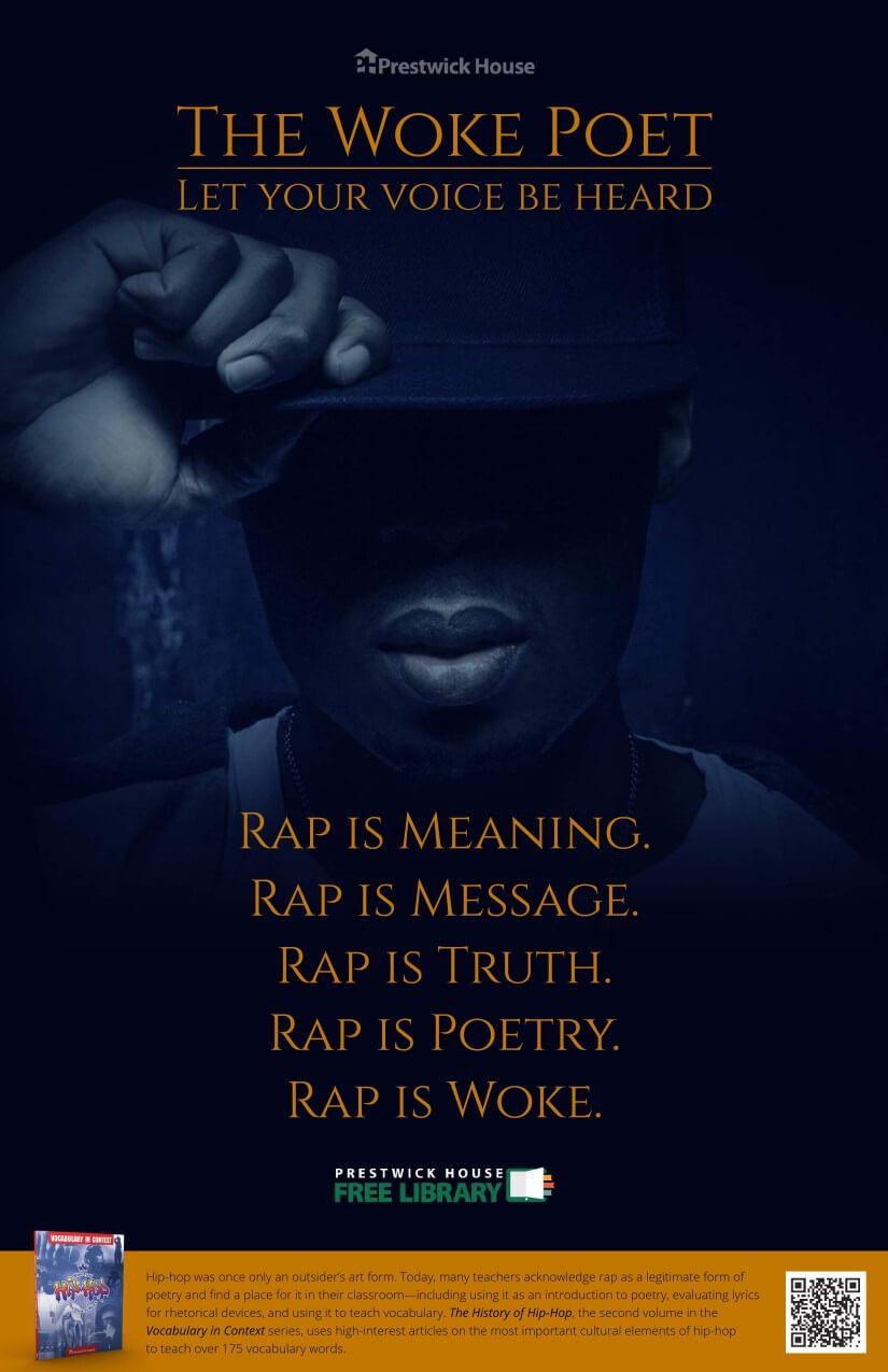 The Woke Poet Poster