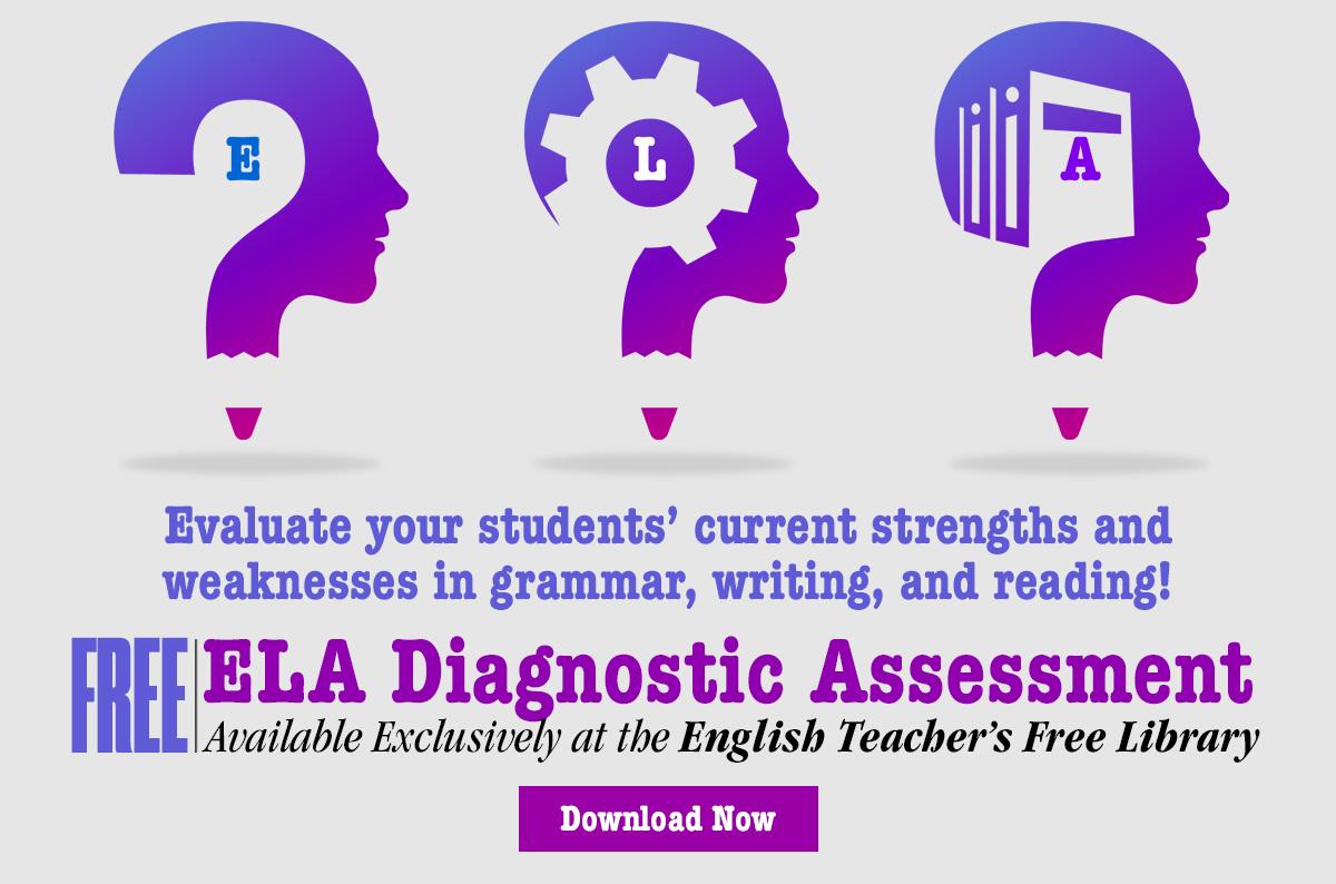 Download Your Free English Language Arts Diagnostic Assessment