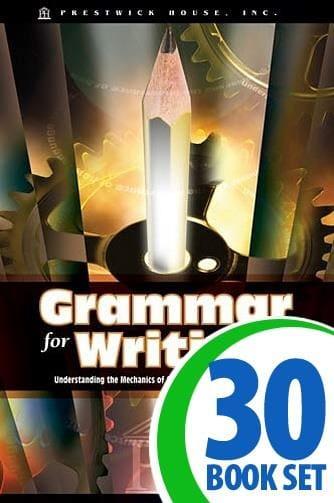 Grammar for Writing 30 Copies + Teacher's Edition