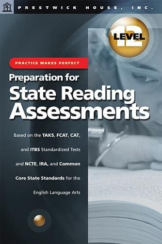 Preparation for State Reading Assessments - Level 12