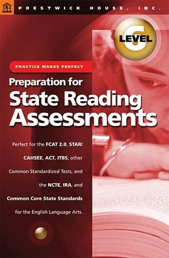 Preparation for State Reading Assessments - Level 6