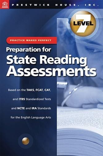 Preparation for State Reading Assessments - Level 7
