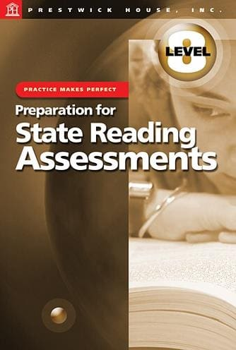 Preparation for State Reading Assessments - Level 8