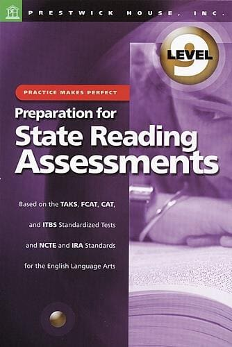 Preparation for State Reading Assessments - Level 9