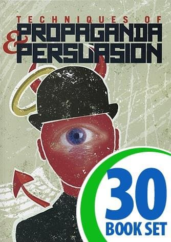 Techniques of Propaganda and Persuasion - Grade 6-12 Class Set