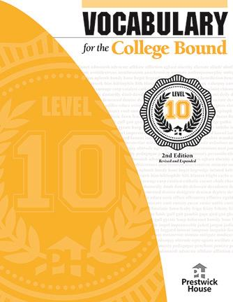 Vocabulary for the College Bound - Level 10