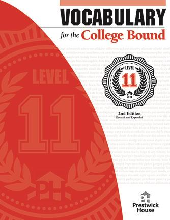 Vocabulary for the College Bound - Level 11