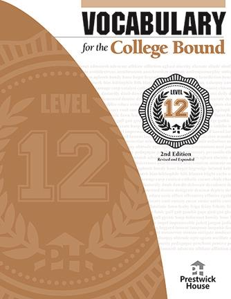 Vocabulary for the College Bound - Level 12