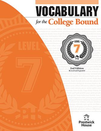 Vocabulary for the College Bound - Level 7