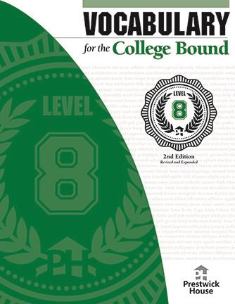 Vocabulary for the College Bound - Level 8