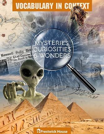 Vocabulary in Context: Mysteries, Curiosities & Wonders