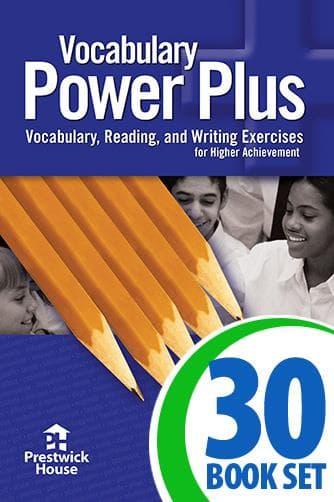 Vocabulary Power Plus - 30 Book Class Set