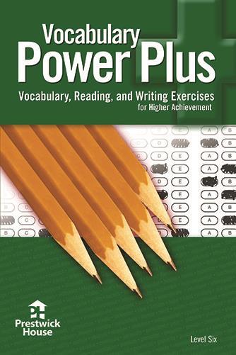 Vocabulary Power Plus- 6th Grade / Level 6