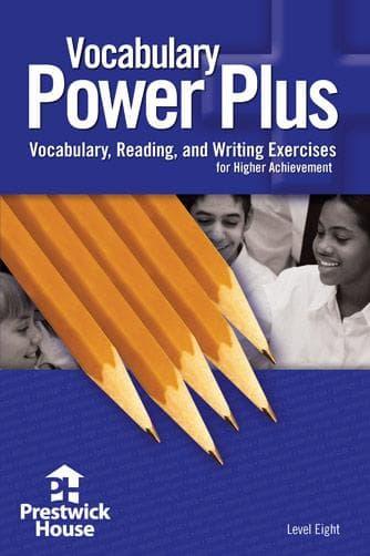 Vocabulary Power Plus- 8th Grade / Level 8
