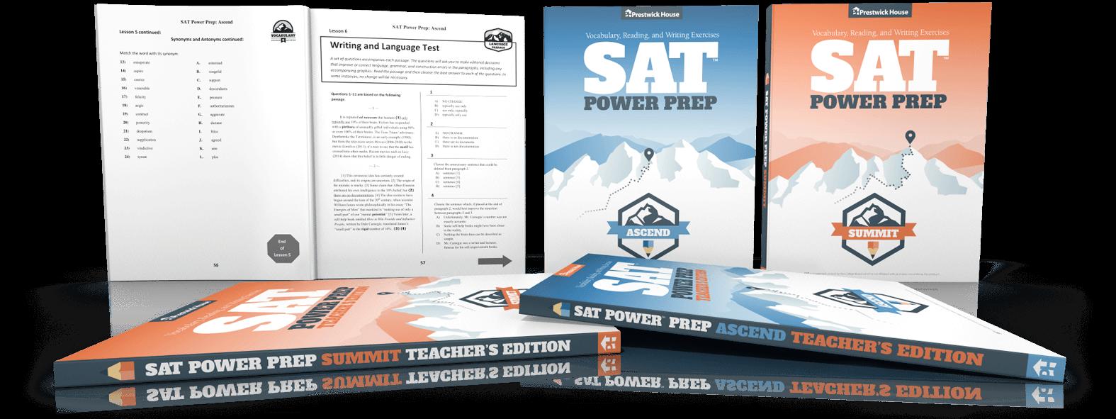 SAT Power Prep & Test Preparation